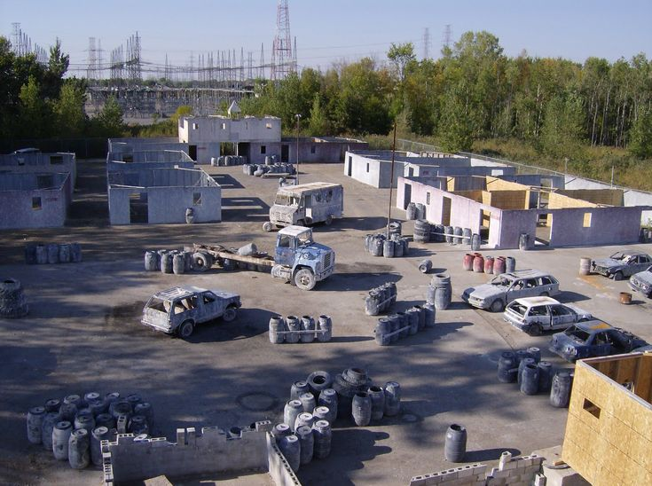 paintball+courses   Skorpion Paintball features an elaborate outdoor urban field, which is ...