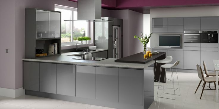 Minerva Worktops - Contemporary Kitchens