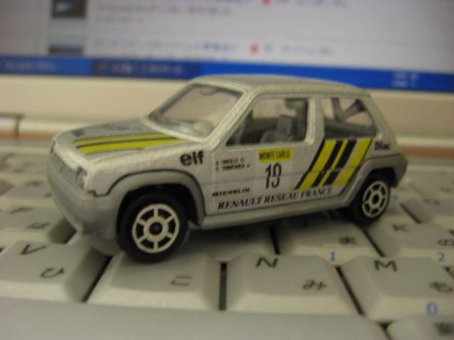 マジョレット ルノー5(シュペール5)|moonraker|Blog|ドラックス|Minkara - The Car & Automobile SNS (Blog - Parts - Maintenance - Mileage)