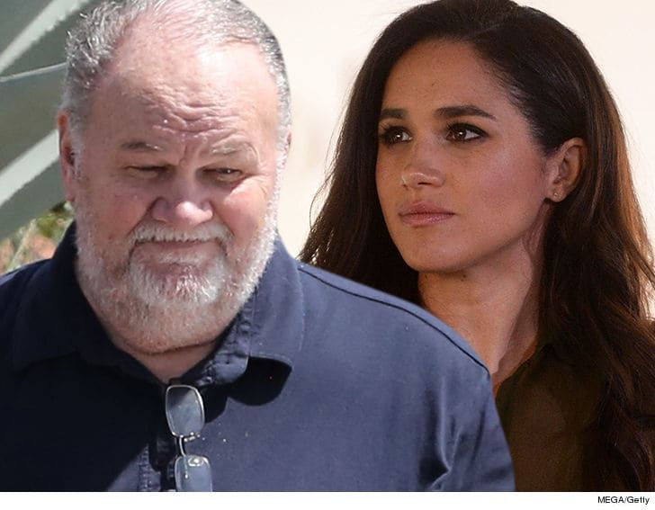 Thomas Markle Did Tell All Interview To Clear His Name Not Bash Meghan Tmz Com Meghan Markle Dad Interview Markle