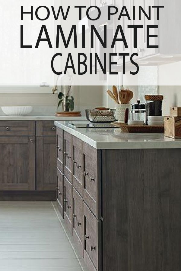 Marvelous How To Paint Laminate Cabinets Do It Yourself Today Home Interior And Landscaping Mentranervesignezvosmurscom