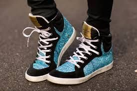 Image result for glitter sneakers