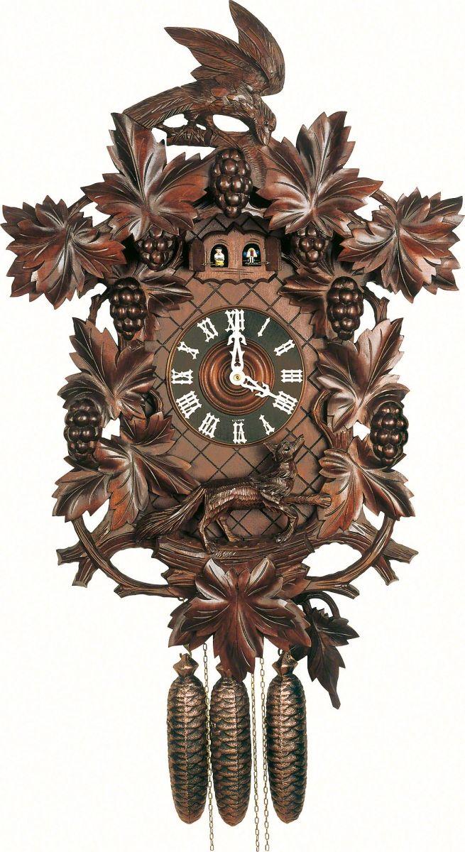 Reloj De Cuco Estilo Madera Tallada