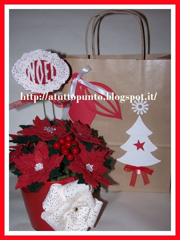 Stella di Natale in feltro