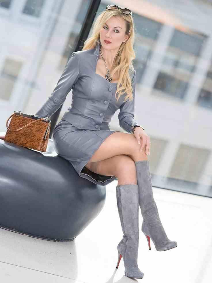 mature   Leather Plus Size - Leather Mature   Pinterest