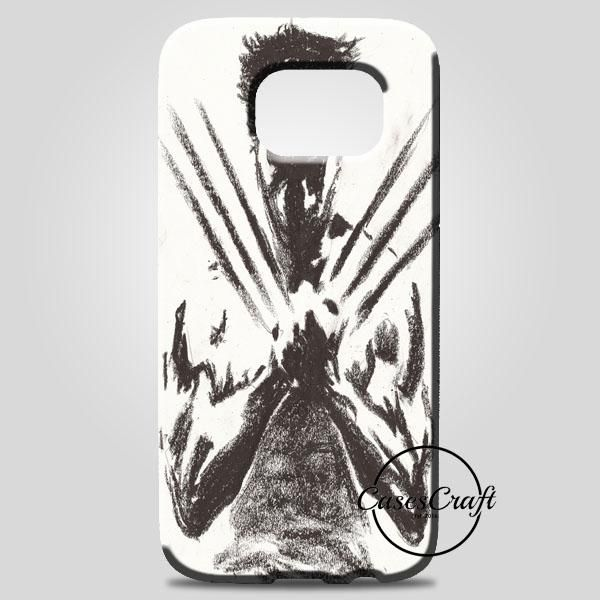 Wolverine Brown Sketch Samsung Galaxy Note 8 Case | casescraft