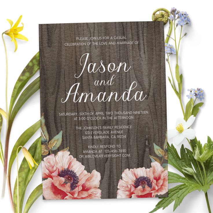 civil wedding invitation card%0A Rustic wedding reception invitation cards that you can personalize to invite  your family and friends
