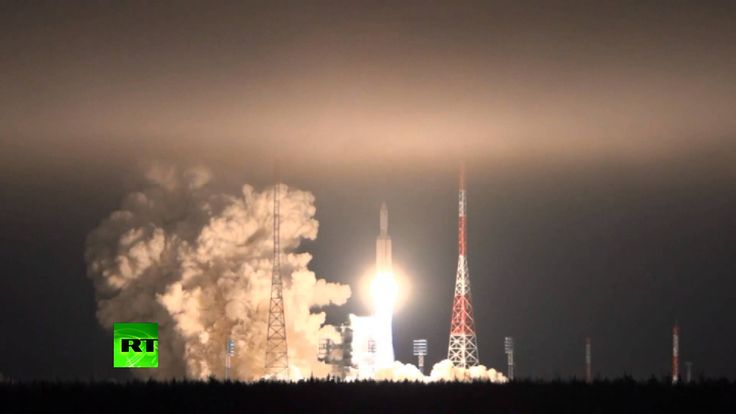 RAW: Angara-A5 rocket successfully launches into geostationary orbit
