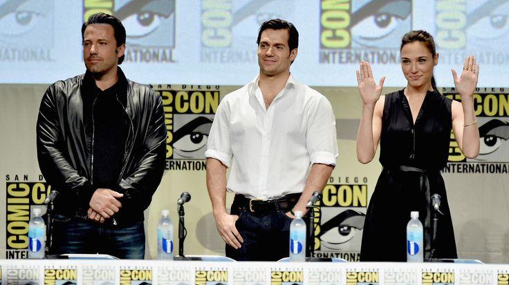 batman vs superman cast at comic con - Google Search