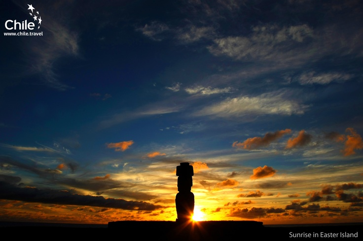 Imagine being on Easter Island, looking out over the Pacific as the suns sets, dusk painting its brilliance upon the island's great moai. This and more awaits you in #Chile