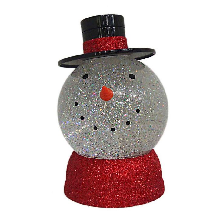 St. Nicholas Square® Shimmer Light-Up Snowman Table Decor, Multicolor