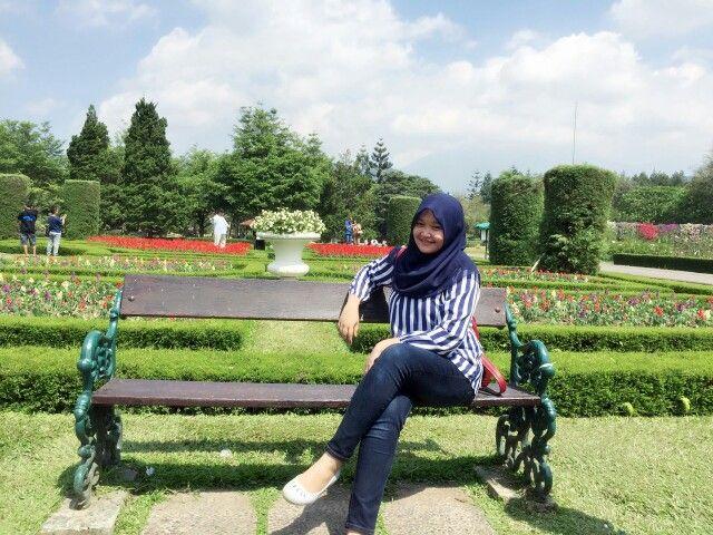 30 May 2015, Taman Perancis at Taman Bunga Nusantara - Cianjur, Jawa Barat, Indonesia
