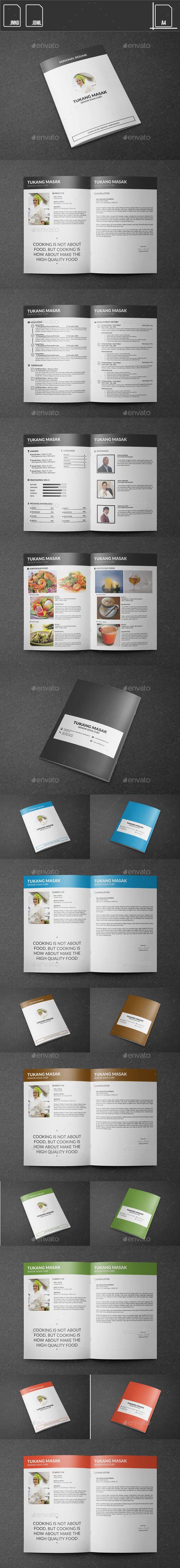 Resume Chef Booklet Template #design Download: http://graphicriver.net/item/resume-chef-booklet/11434028?ref=ksioks