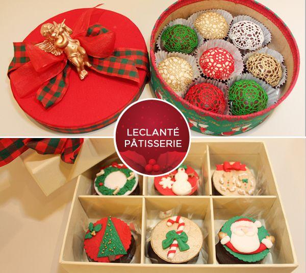 Doces de Natal da Leclanté Pâtisserie. Clique na foto para saber o contato para encomendas.