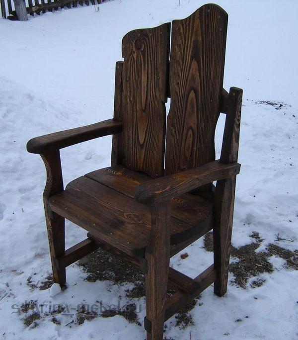 "Кресло под старину ""Воин"""