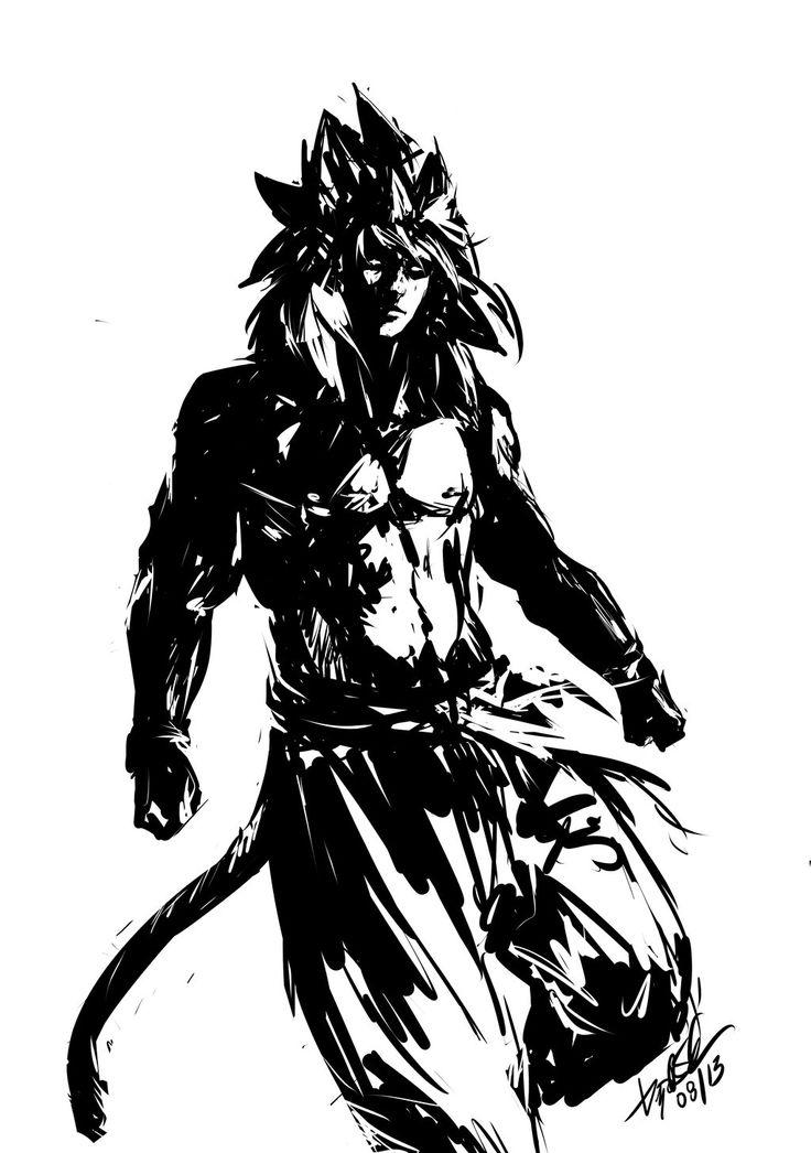 Goku SS4 by DiegooCunha.deviantart.com on @DeviantArt