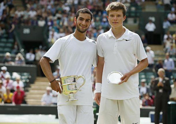 Noah Rubin wins 2014 Boys Wimbledon title defeating fellow American S. Kozlov