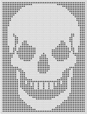 SKULL CROCHET AFGHAN PATTERNS COPYRIGHT TINA GIBBONS Lots more patterns of everything.