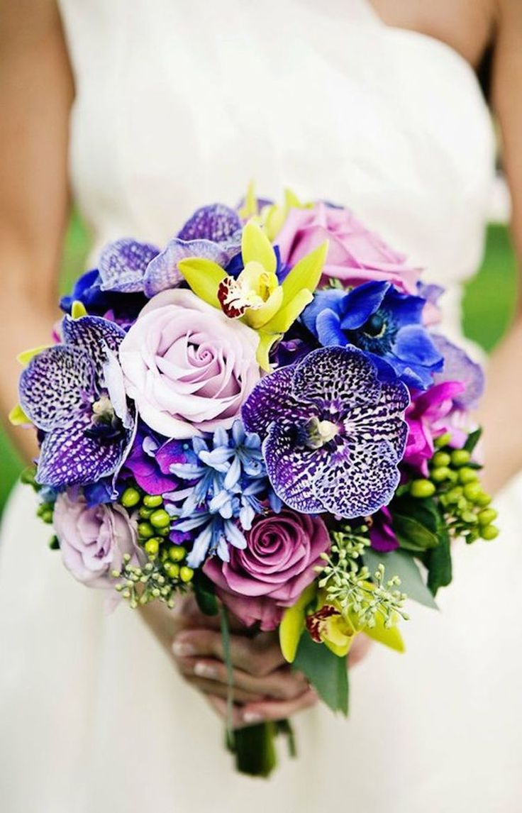 Plum Gorgeous Bridal Bouquet