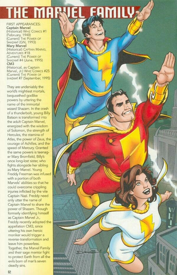 Dc S Mary Marvel Captain Marvel And Captain Marvel Jr Shazam