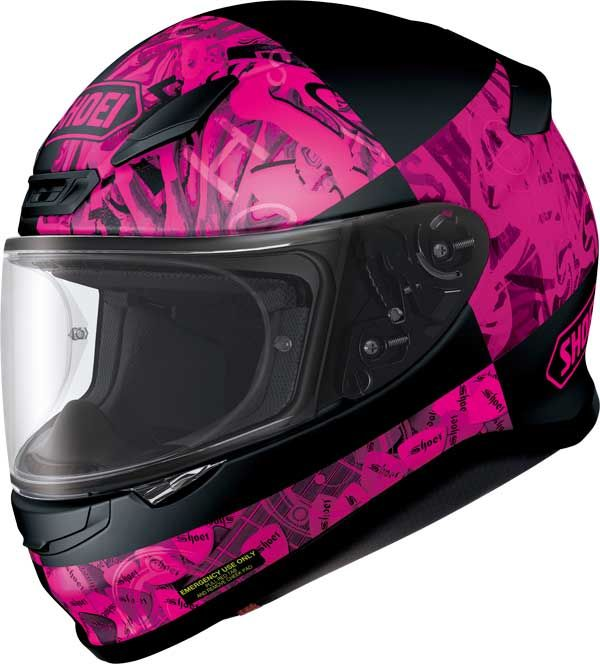 SHOEI-NXR-FULL-FACE-MOTORCYCLE-RACE-SPORTS-HELMET-FREE-DARK-VISOR