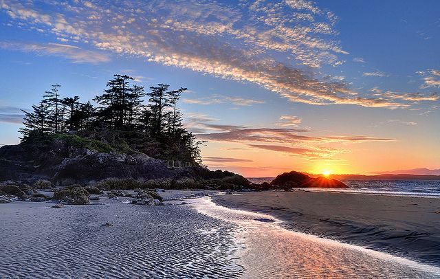 "Tofino, Canada. - Hark, now hear the sailors cry, smell the sea, and feel the sky let your soul & spirit fly, into the mystic"". Van Morrison"