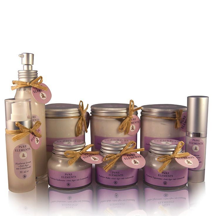Pure Elements Hyaluron Anti-age lijn    http://www.purelements.nl/product-categorie/producte/gezichtsverzorging/antiaging/