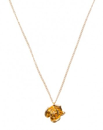Popetto Fine Rosebud necklace