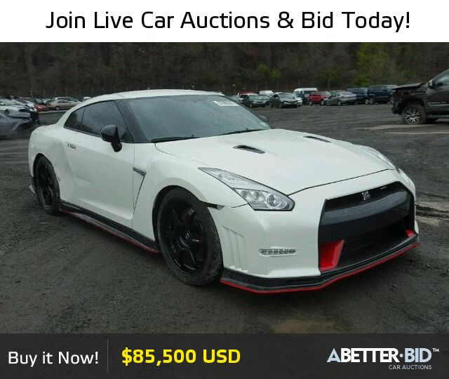 Salvage  2015 NISSAN GTR for Sale - JN1AR5EF3FM281736 - https://abetter.bid/en/27890267-2015-nissan-gt-r_premi