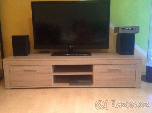 Moderní stůl pod TV (lowboard) - Jablonec nad Nisou, prodám