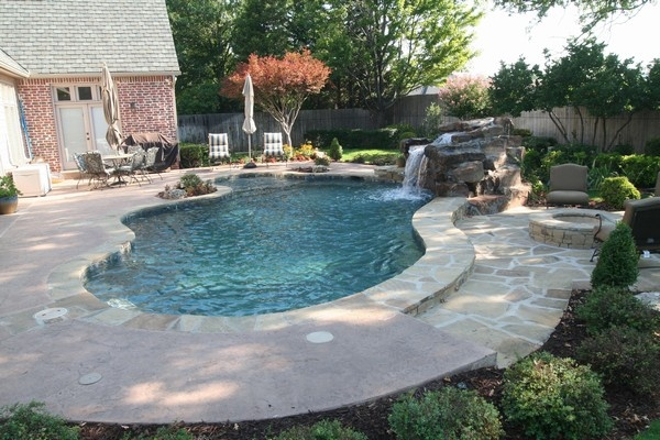 Portfolio page for atlantis pools tulsa oklahoma inground Hot tubs tulsa