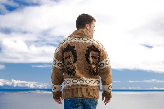 Cowichan SweaterLouis Riel by laurakapp on Etsy, $480.00