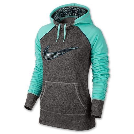 Women's Nike Swoosh Out All Time Printed Hoodie - 665890 064 | Finish Line