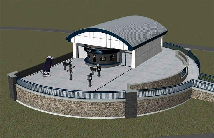 Lowell Observatory Announces New Public Observing Plaza