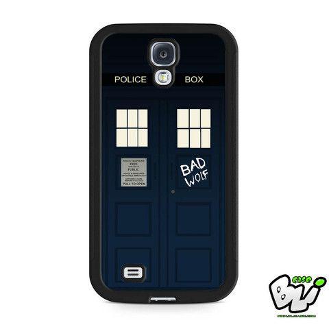 Doctor Who Tardis Bad Wolf Door Samsung Galaxy S4 Case