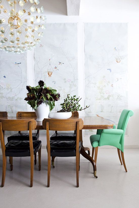 Mix and Matching Chairs