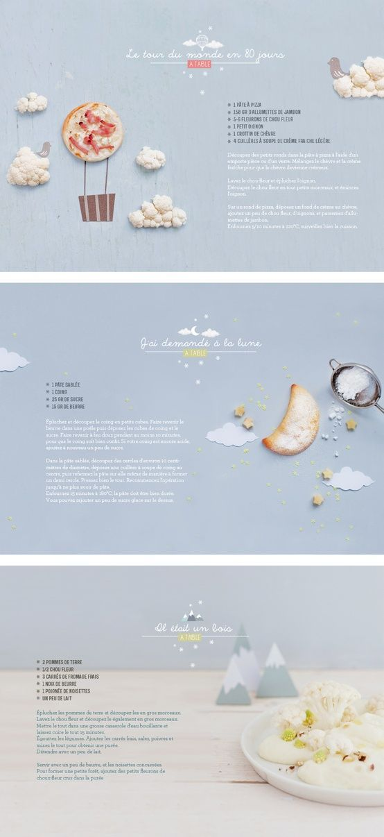 Gourmet #website #design with soft colors
