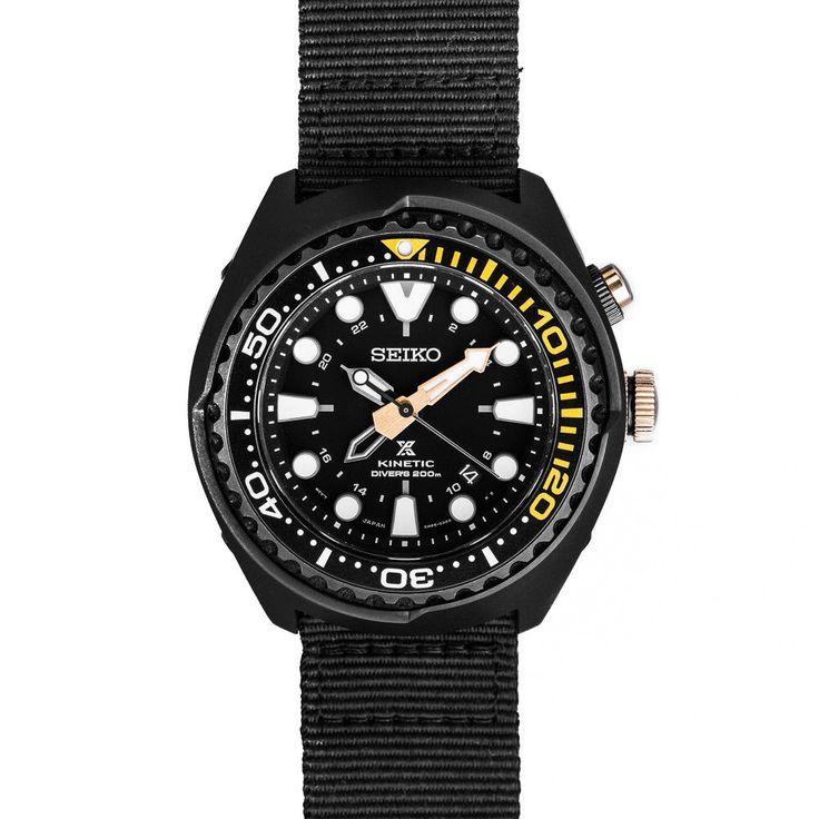 Seiko Prospex Kinetic GMT Watch SUN045P1 (5M85-0AB0) 50th Anniversary Edition