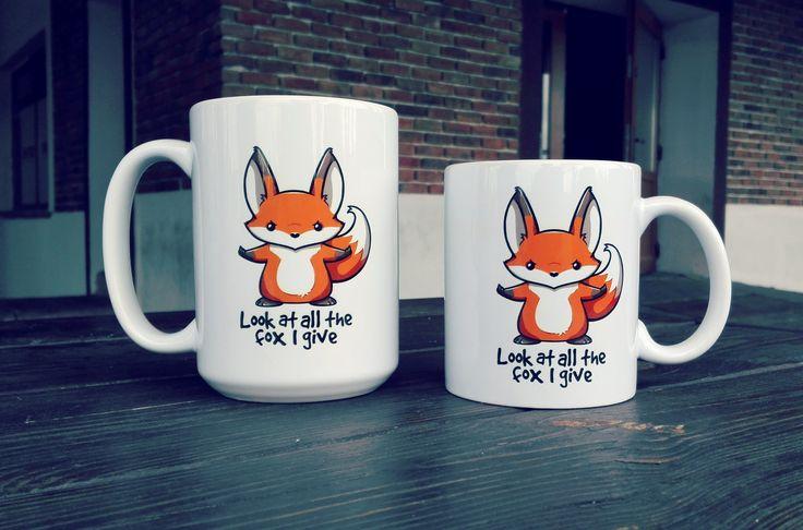 Uroczy, bezkompromisowy lis na Twoim kubku porannej kawy poprawi humor nie tylko Tobie! Kubki 330ml i 450ml dostępne od ręki! #coffee #mug #kawa #funny #fox