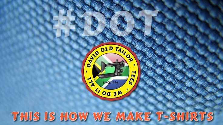 This is how we make t-shirts, David Old Tailor. #DOT #davidoldtailor  Just completed the video for David Old Tailor #DOT and the website will be back online soon.