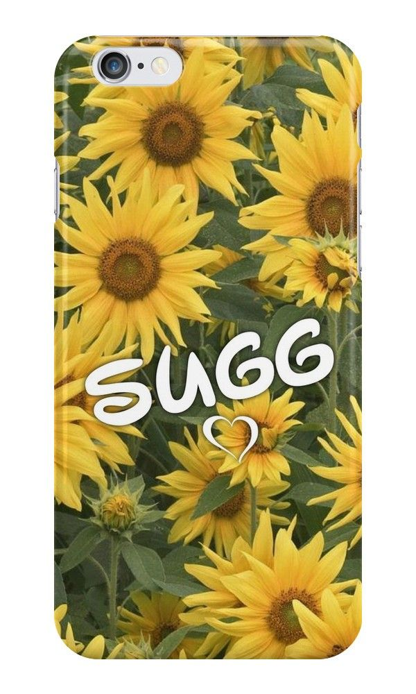 Our Sugg Sunflowers - YouTuber Phone Case is available online now for just £5.99.    Fan of the Suggs? You'll love this Zoe & Joe inspired YouTuber floral phone case.    Material: Plastic, Production Method: Printed, Authenticity: Unofficial, Weight: 28g, Thickness: 12mm, Colour Sides: Clear, Compatible With: iPhone 4/4s | iPhone 5/5s/SE | iPhone 5c | iPhone 6/6s | iPhone 7 | iPod 4th/5th Generation | Galaxy S4 | Galaxy S5 | Galaxy S6 | Galaxy S6 Edge | Galaxy S7 | Galaxy S7 Edge | Galaxy S8