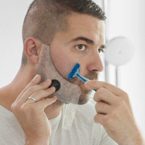 Hipster barber szakáll nyíró sablon arcszőrzet igazításhoz férfias,...-Akciós ár:1990 Ft