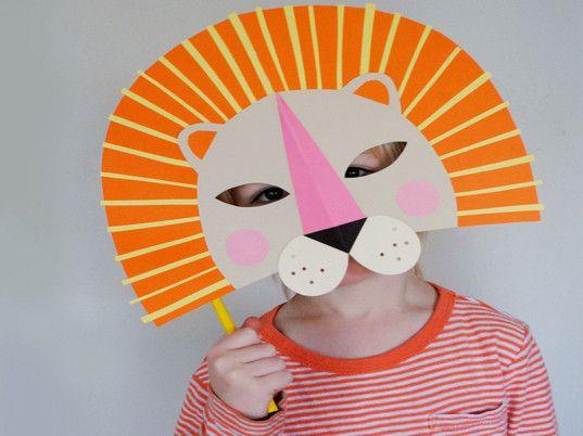 9 DIY Halloween Masks