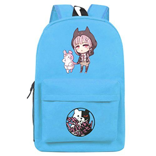 YOYOSHome Danganronpa Anime Trigger Happy Havoc Cosplay Daypack Backpack School Bag -- Find out more about the great product at the image link.