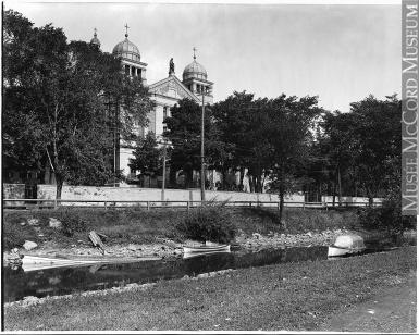 St. Anne's Church Circa 1912 in Lachine.
