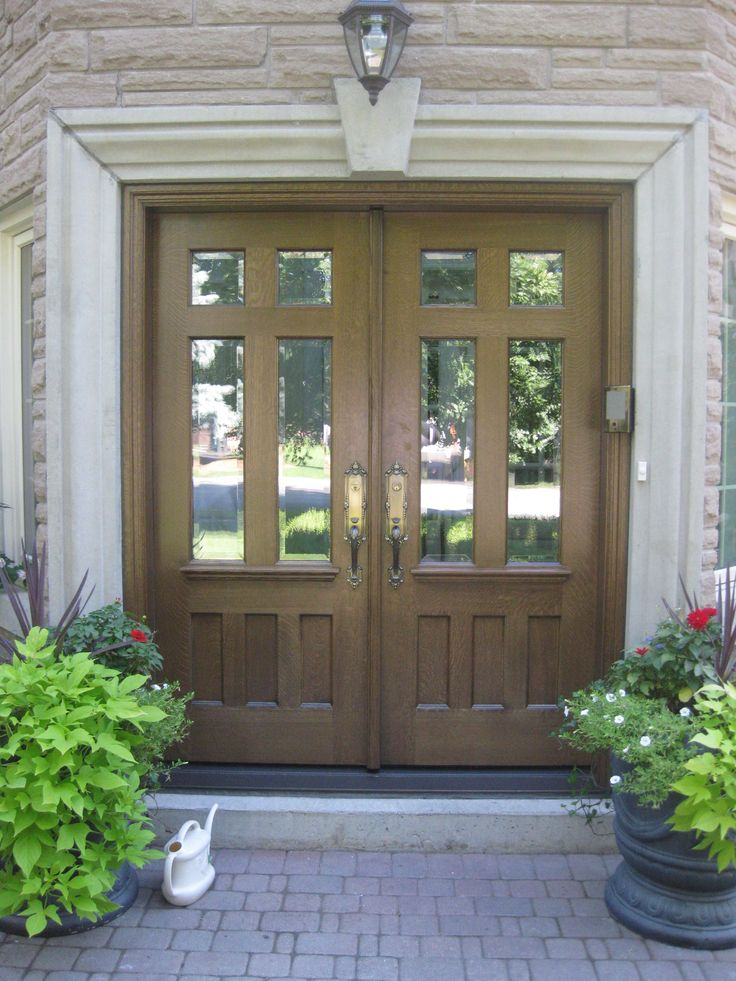 Amberwood Doors Inc: This Beauty Is A Double Entry Solid Quarter Sawn White Oak