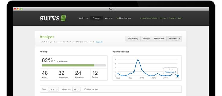 Survs – Online Survey Tool