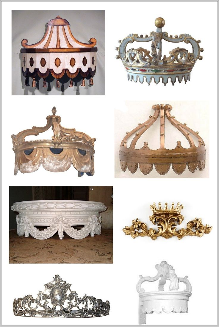 Jackie Blue Home: Bed Crowns Fit For a King                                                                                                                                                                                 More