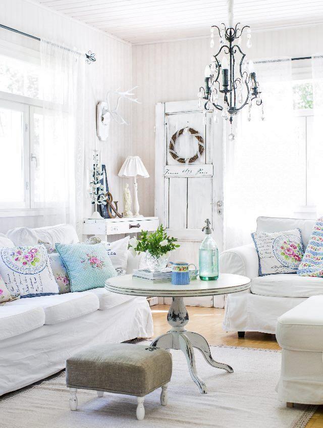 Romantic Living Room: 23 Best Images About Maalaisromanttinen Sisustus On Pinterest