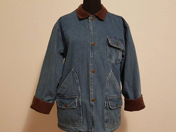 Check out this item in my Etsy shop https://www.etsy.com/listing/569288644/vintage-90s-denim-duster-jacket-with